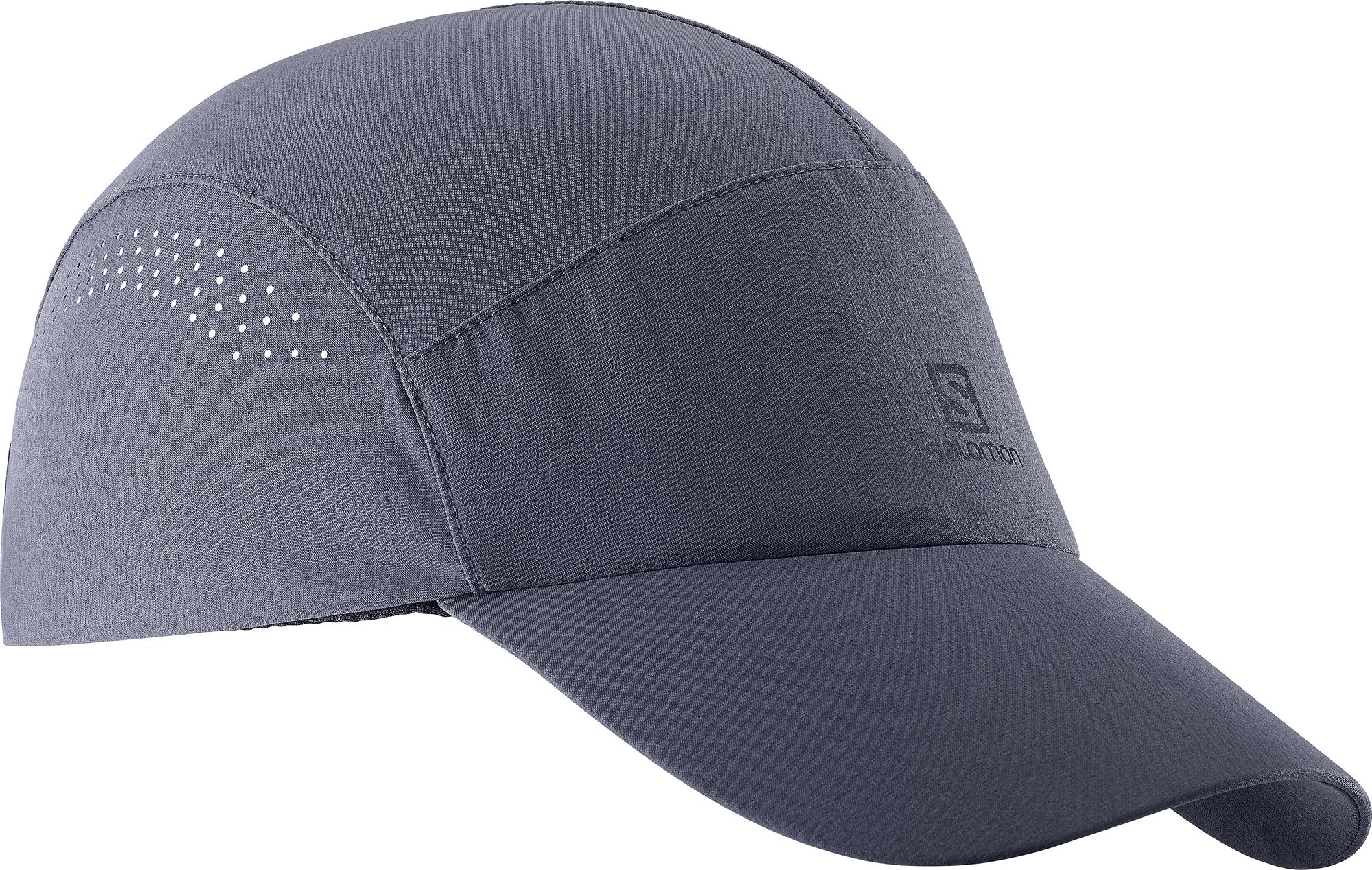 Salomon Softshell Cap Ombre Blue 393182 šedá