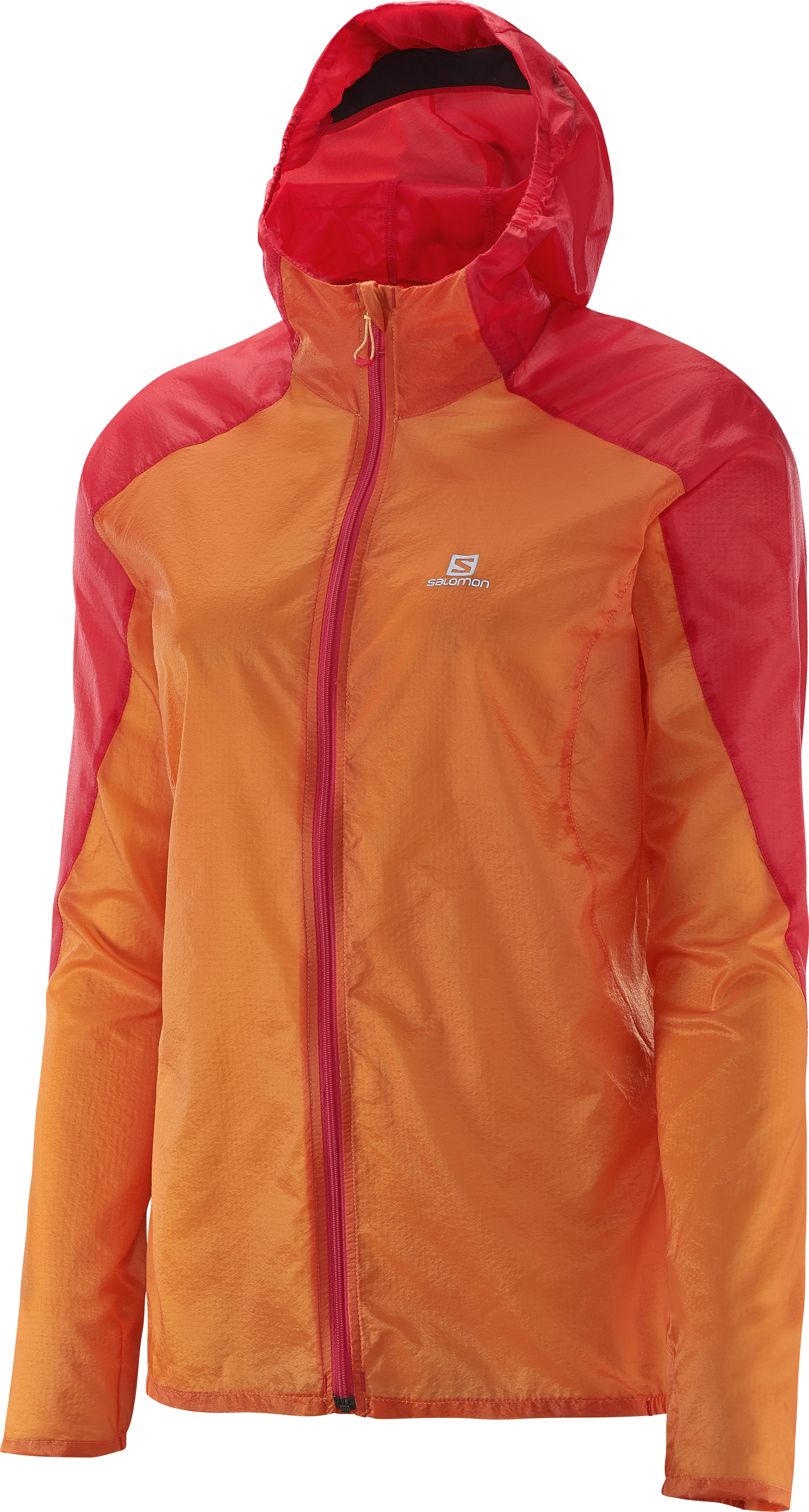 Salomon Fast Wing Hoodie 379354 oranžová S
