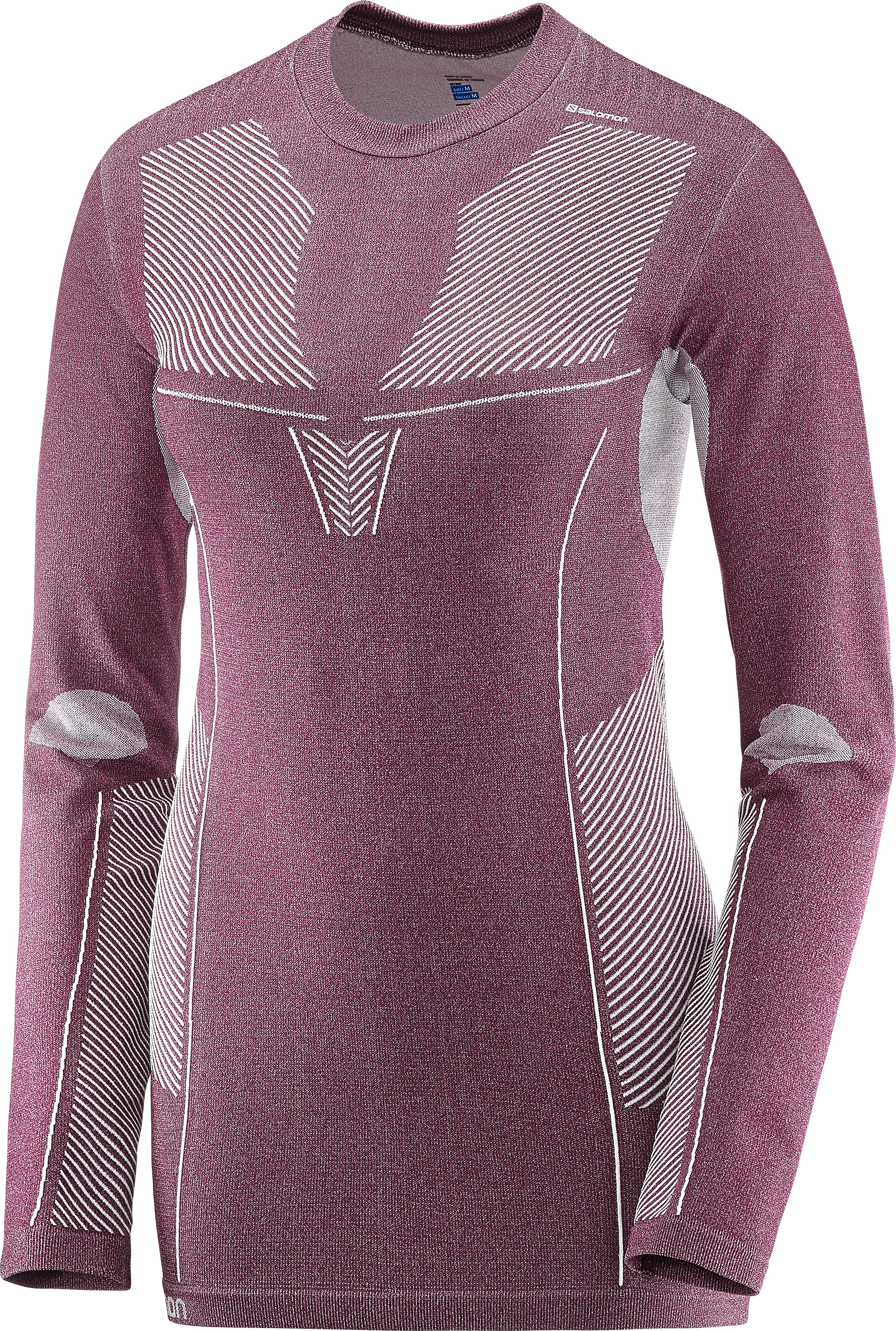 Salomon Primo Warm LS CN Tee Fig 397172 L