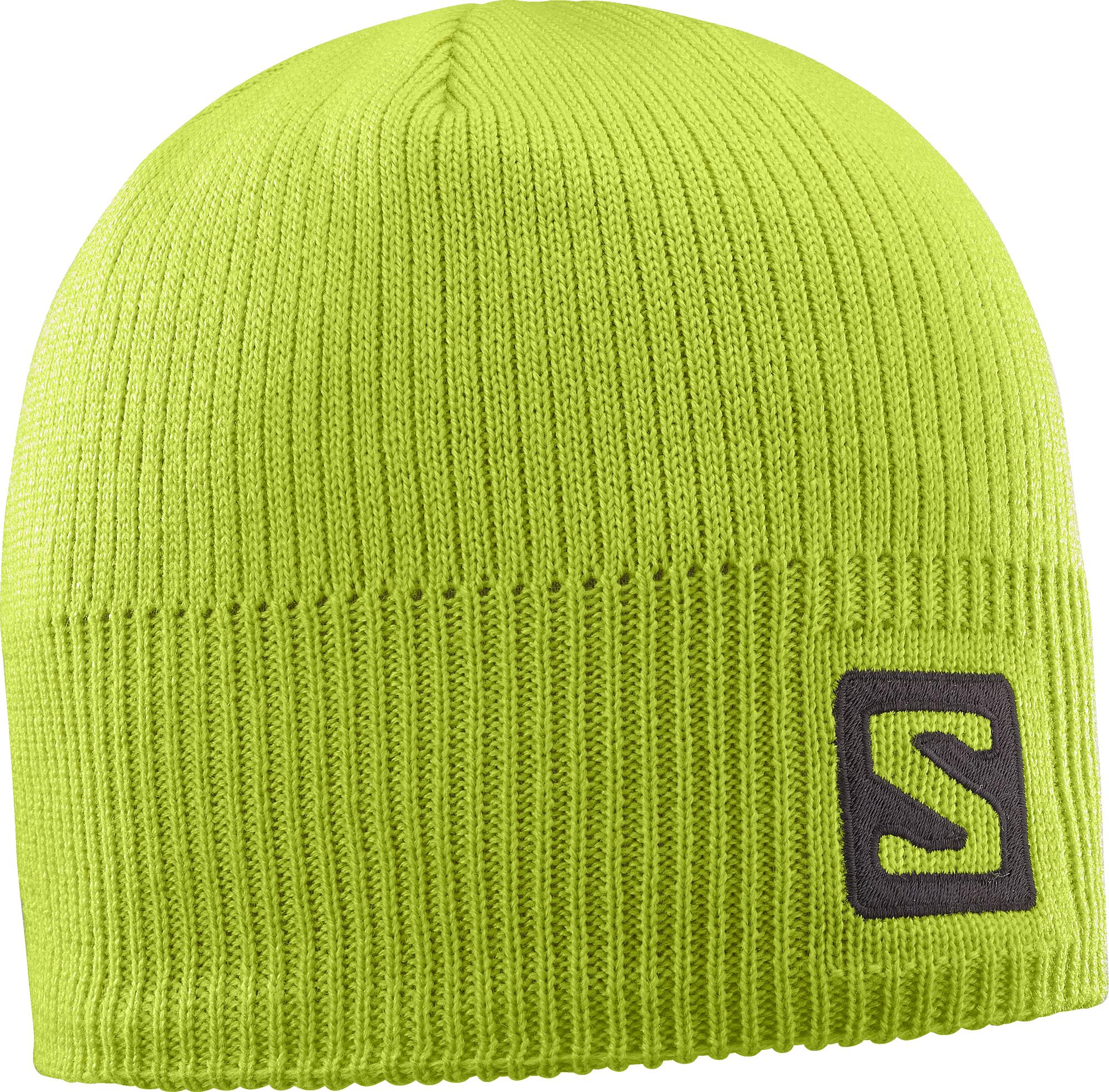 Salomon Logo Beanie Acid Lime 394963