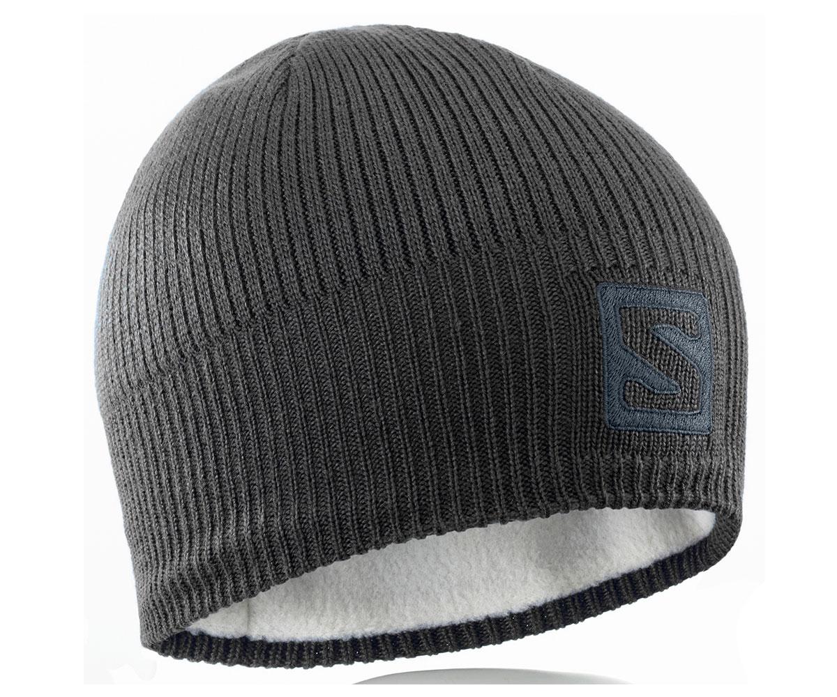 Salomon Beanie Black 366850 černá
