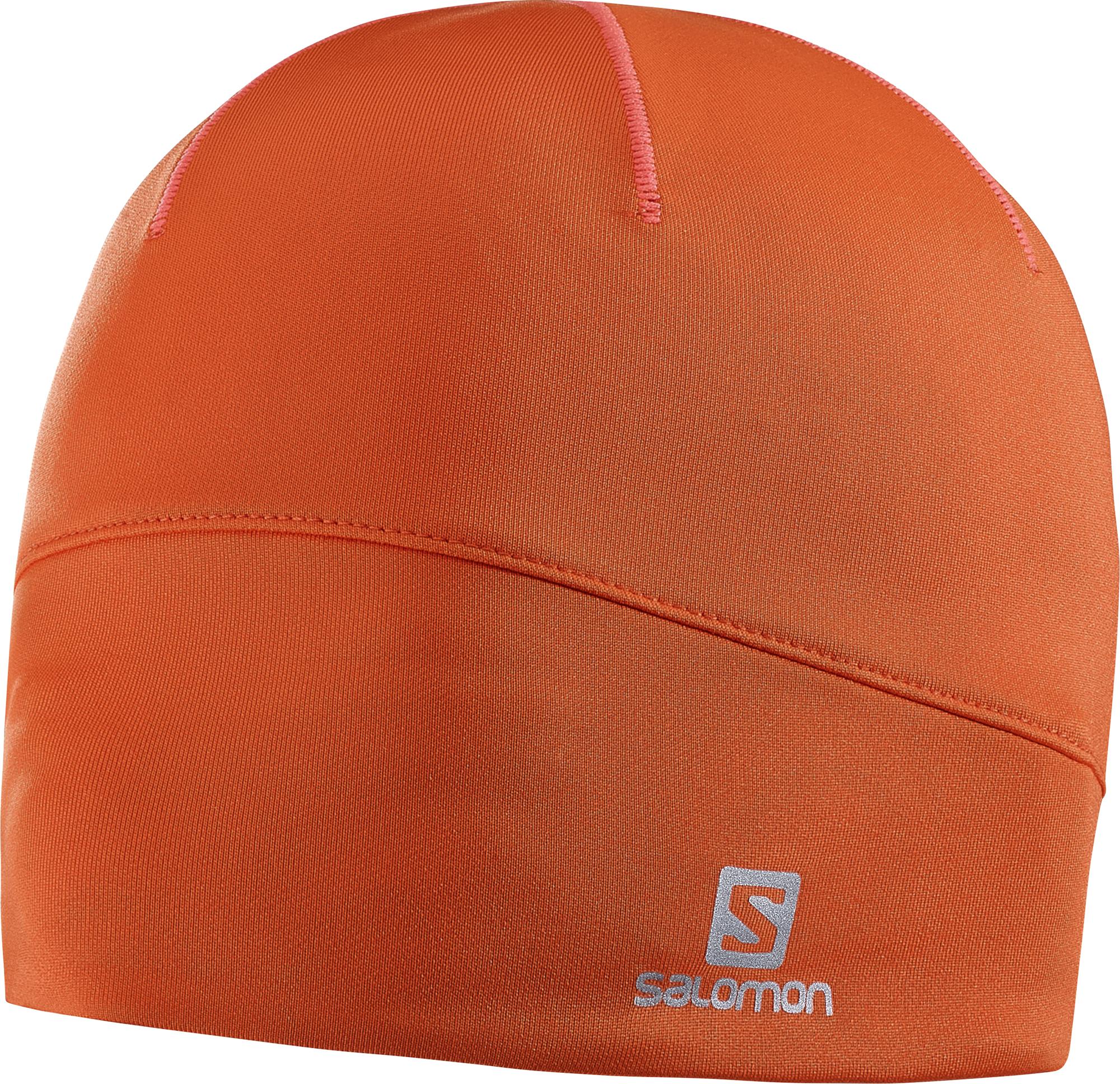 Salomon Active Beanie 390227 oranžová