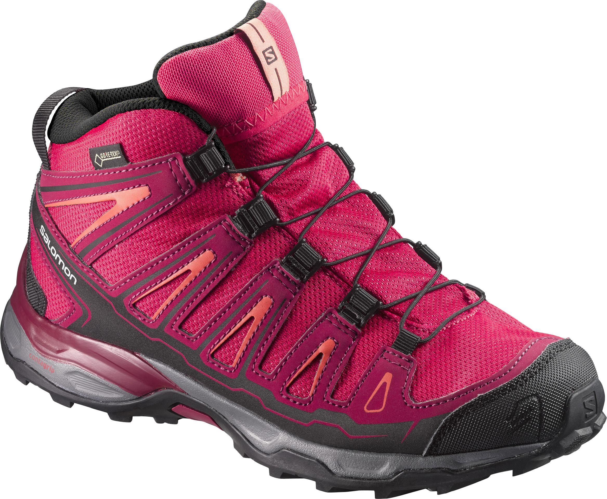 Salomon X-Ultra Mid GTX Junior 398651 červená 31