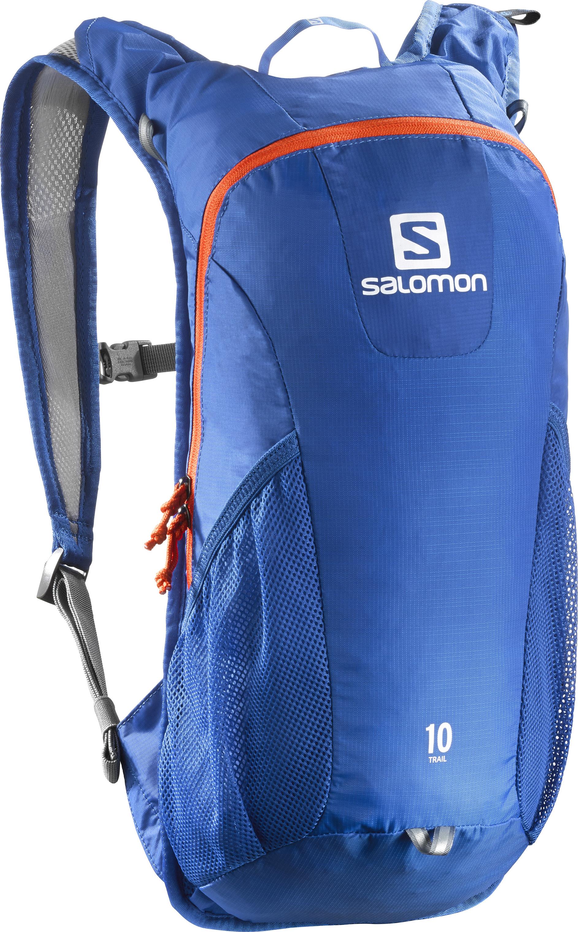 Salomon Trail 10 Blue Yonder/Vivid Orange 382362 modrá