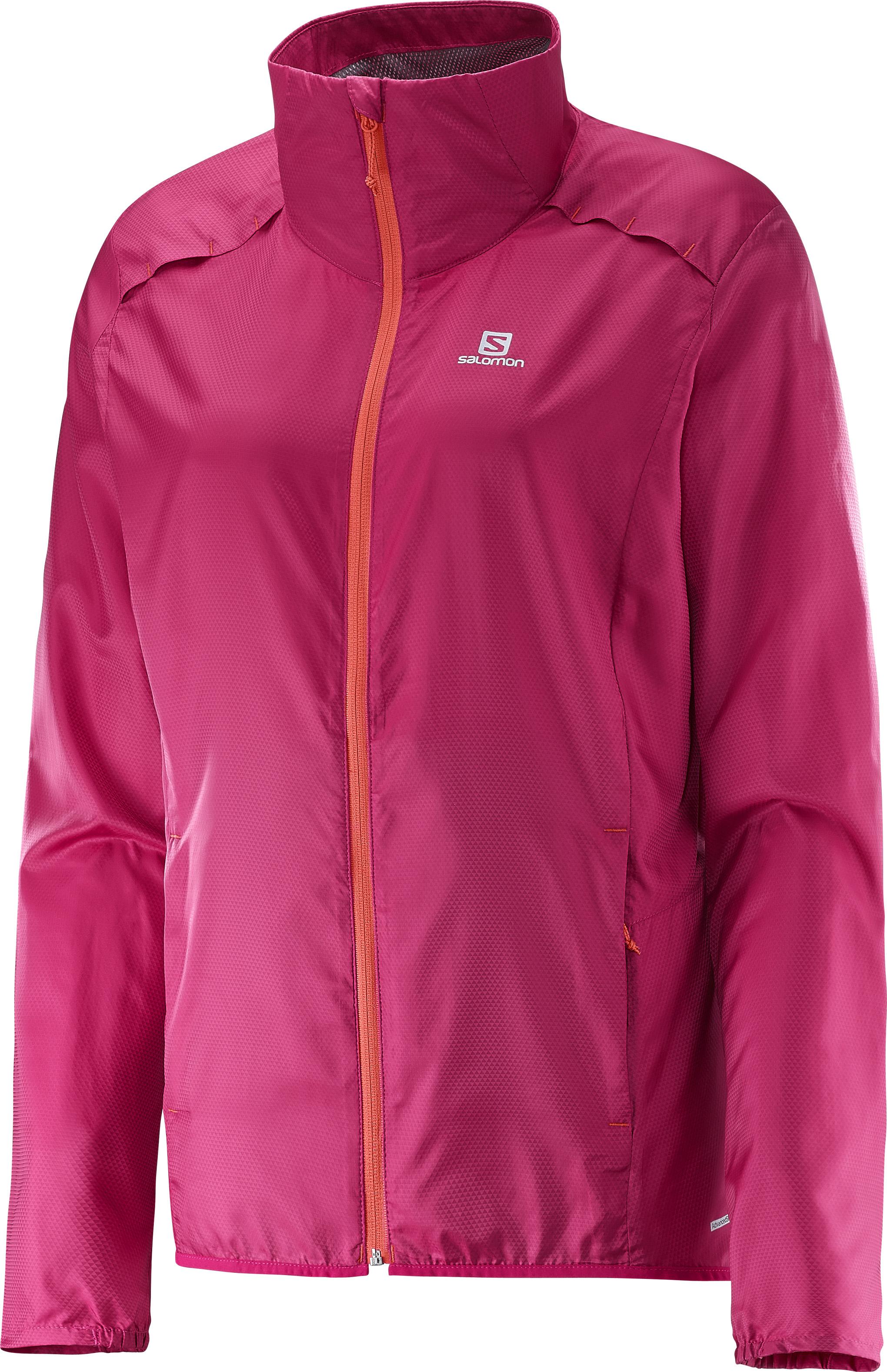Salomon Agile JKT 382776 růžová XL