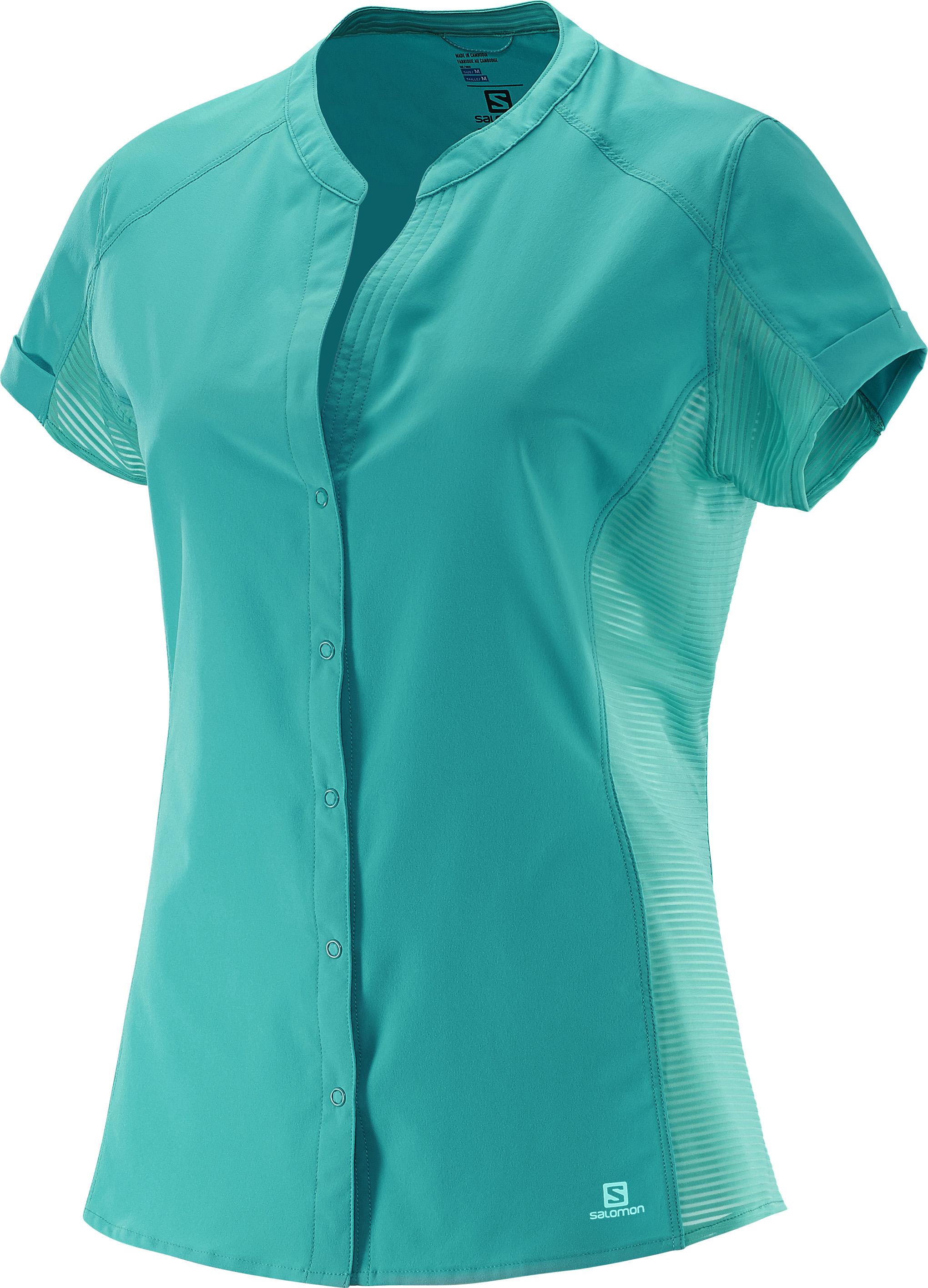 Salomon Nomad SS Shirt 379760 tyrkysová S