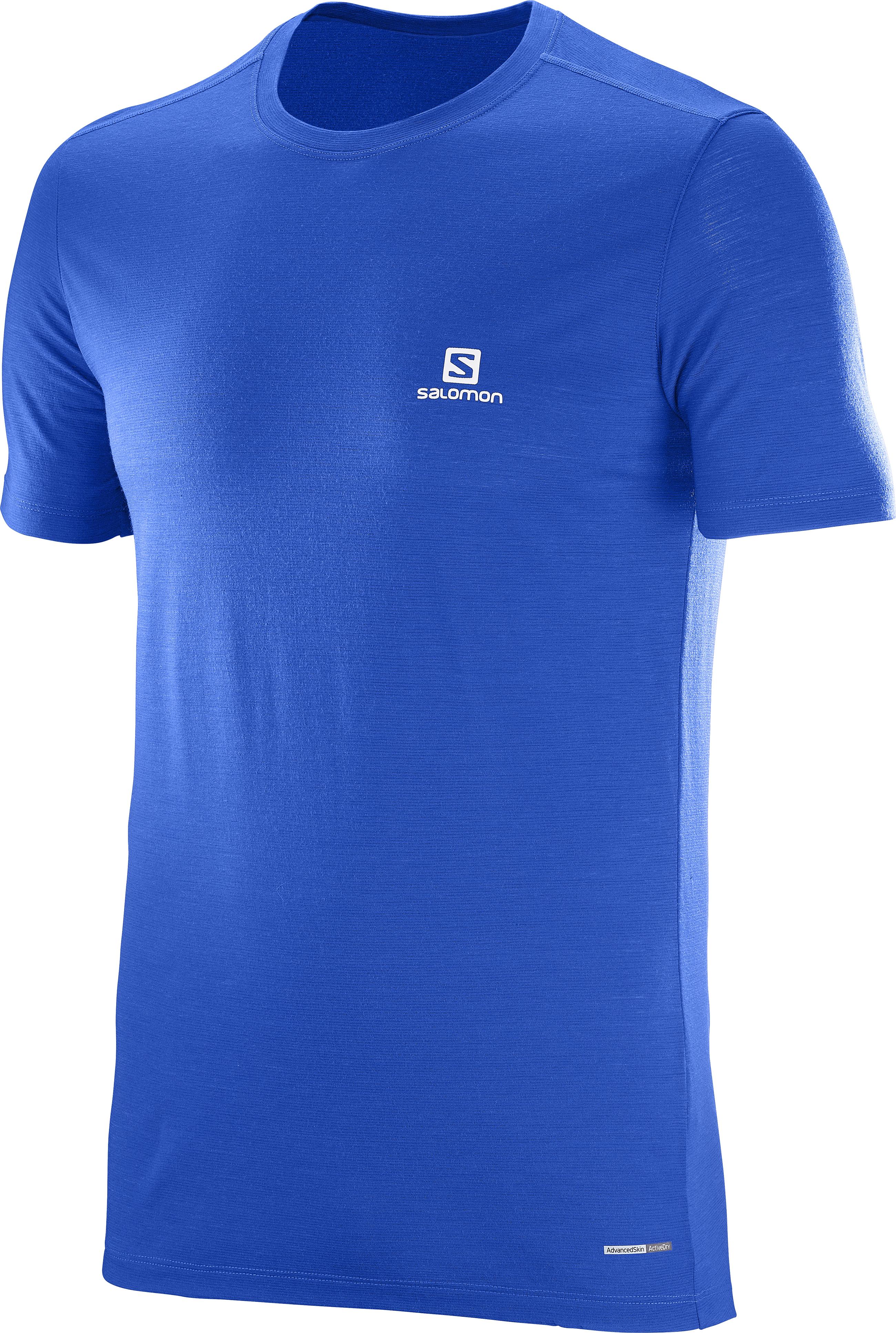 Salomon X Wool SS Tee M 392894 modrá L