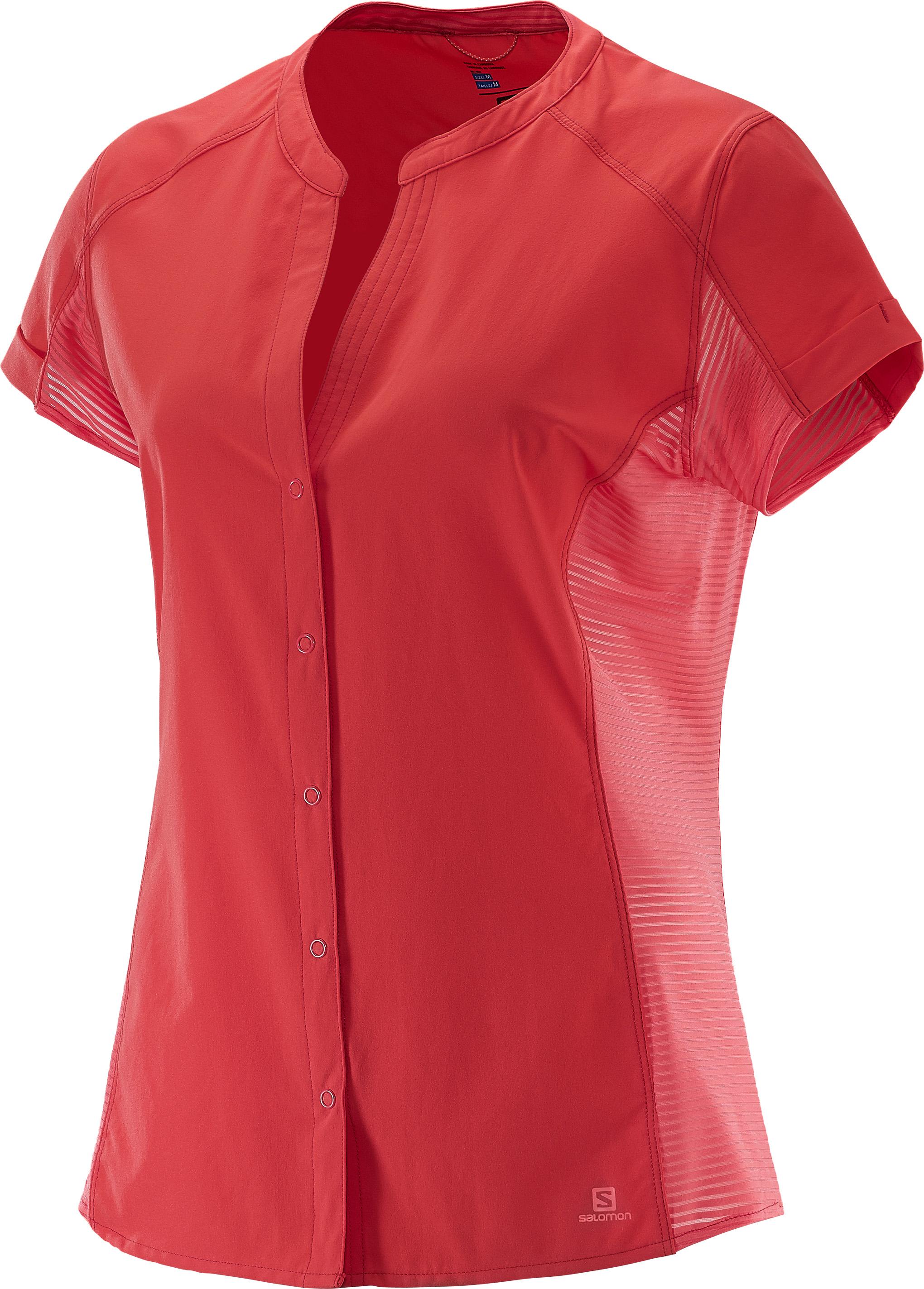 Salomon Nomad SS Shirt 379757 červená L