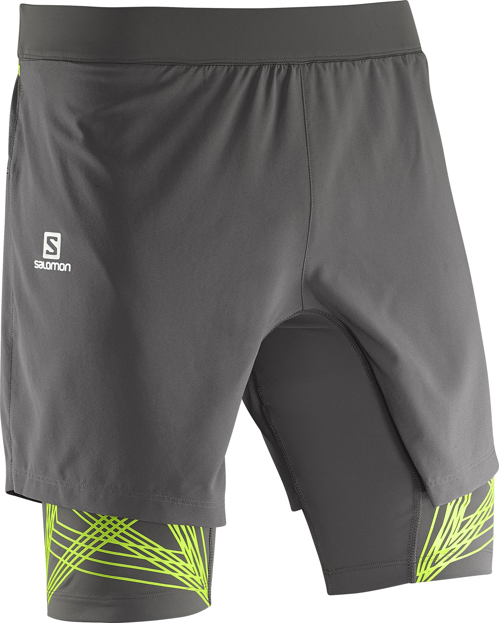 Salomon Intensity TW Short 379419 šedá XL