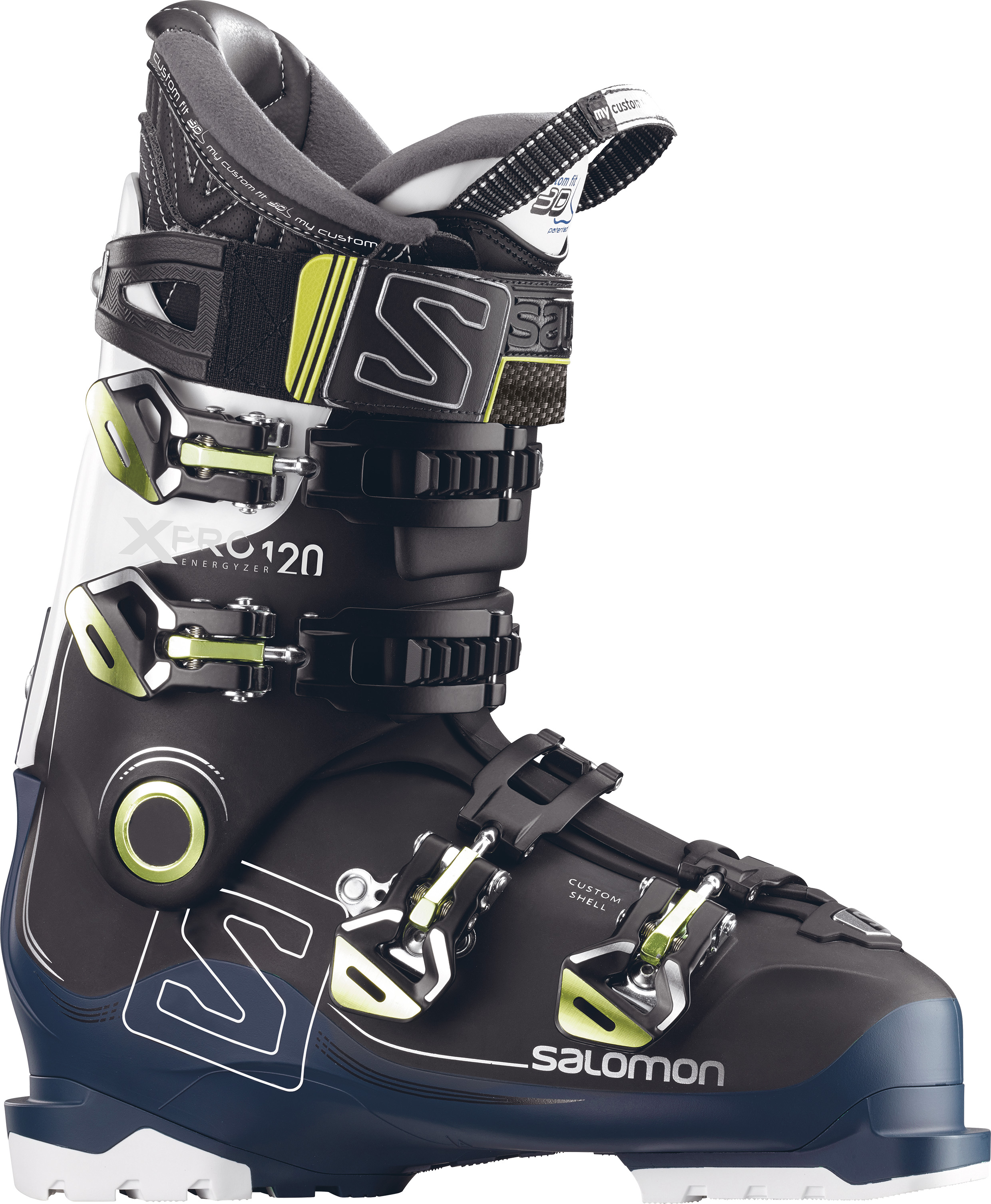 Salomon X PRO 120 Black/Petrol/Blue/White 17/18 391522 27