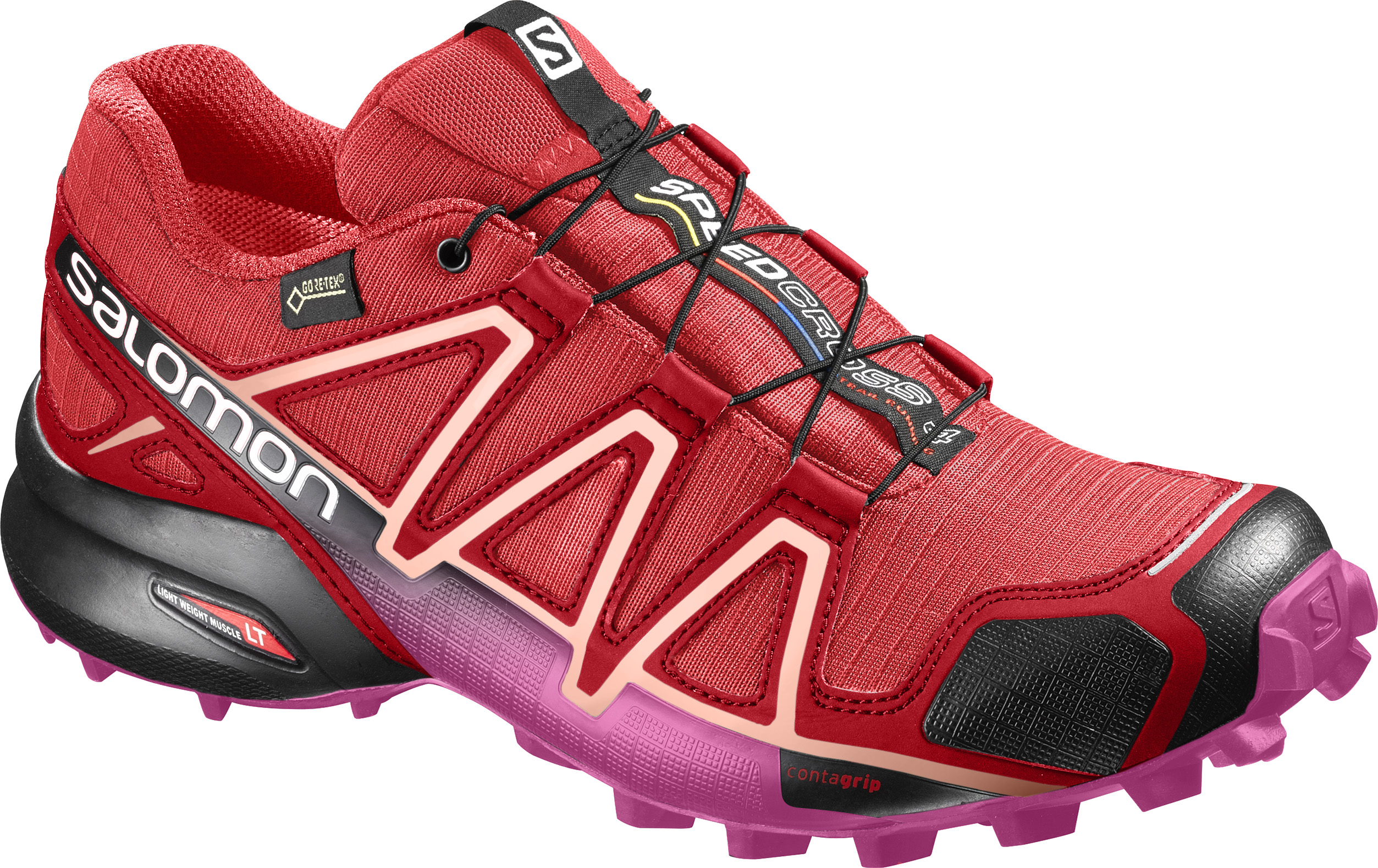 Salomon Speedcross 4 GTX W 394666 červená 36,6