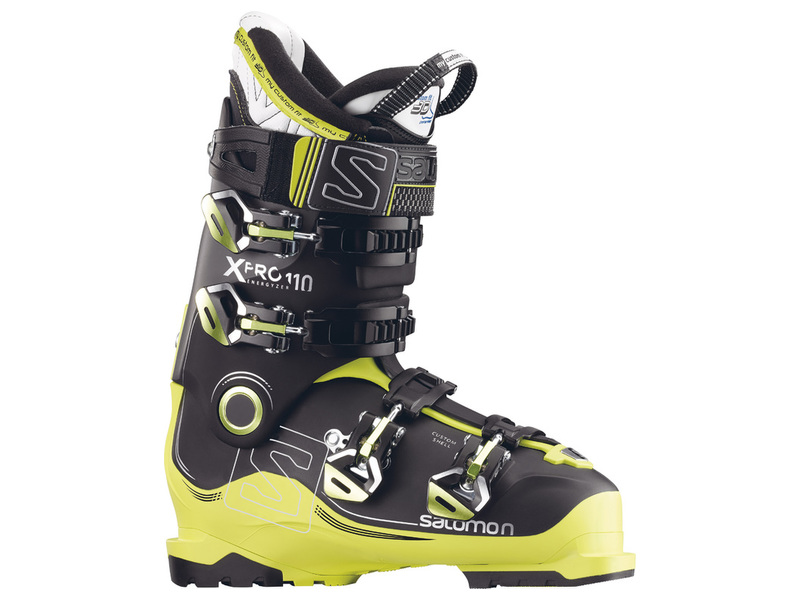 Salomon X PRO 110 Black/Acide Green/Anthracite 17/18 391523 27