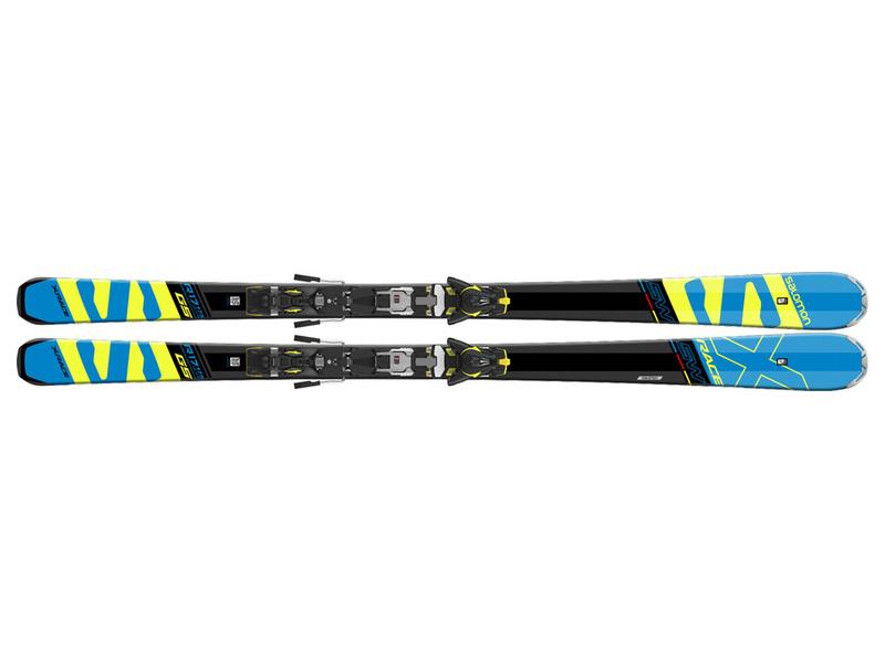 Salomon X-RACE SW + Z12 Speed 17/18 399525 černá 165