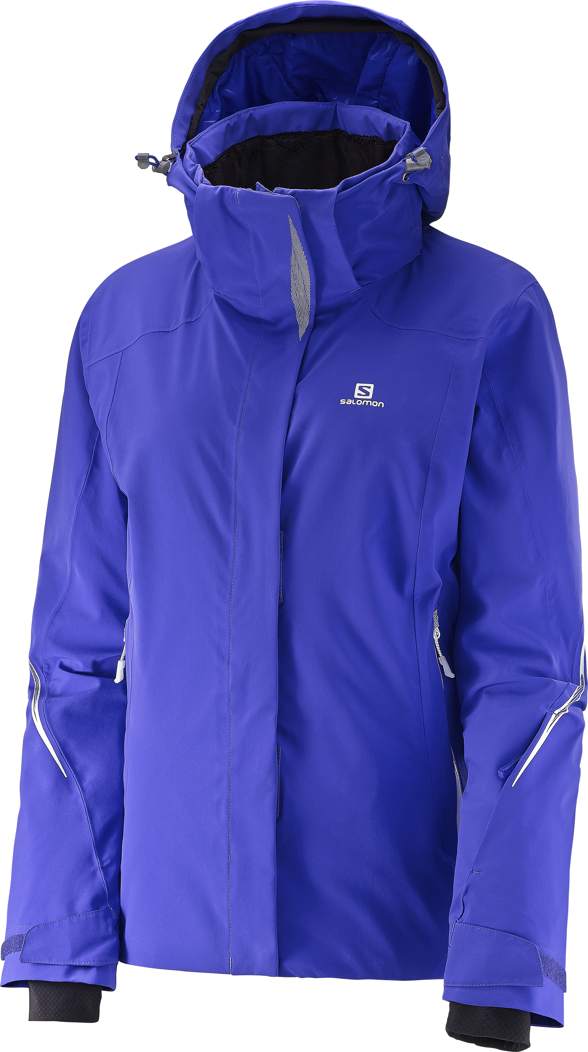 Salomon Brilliant JKT 382639 modrá L