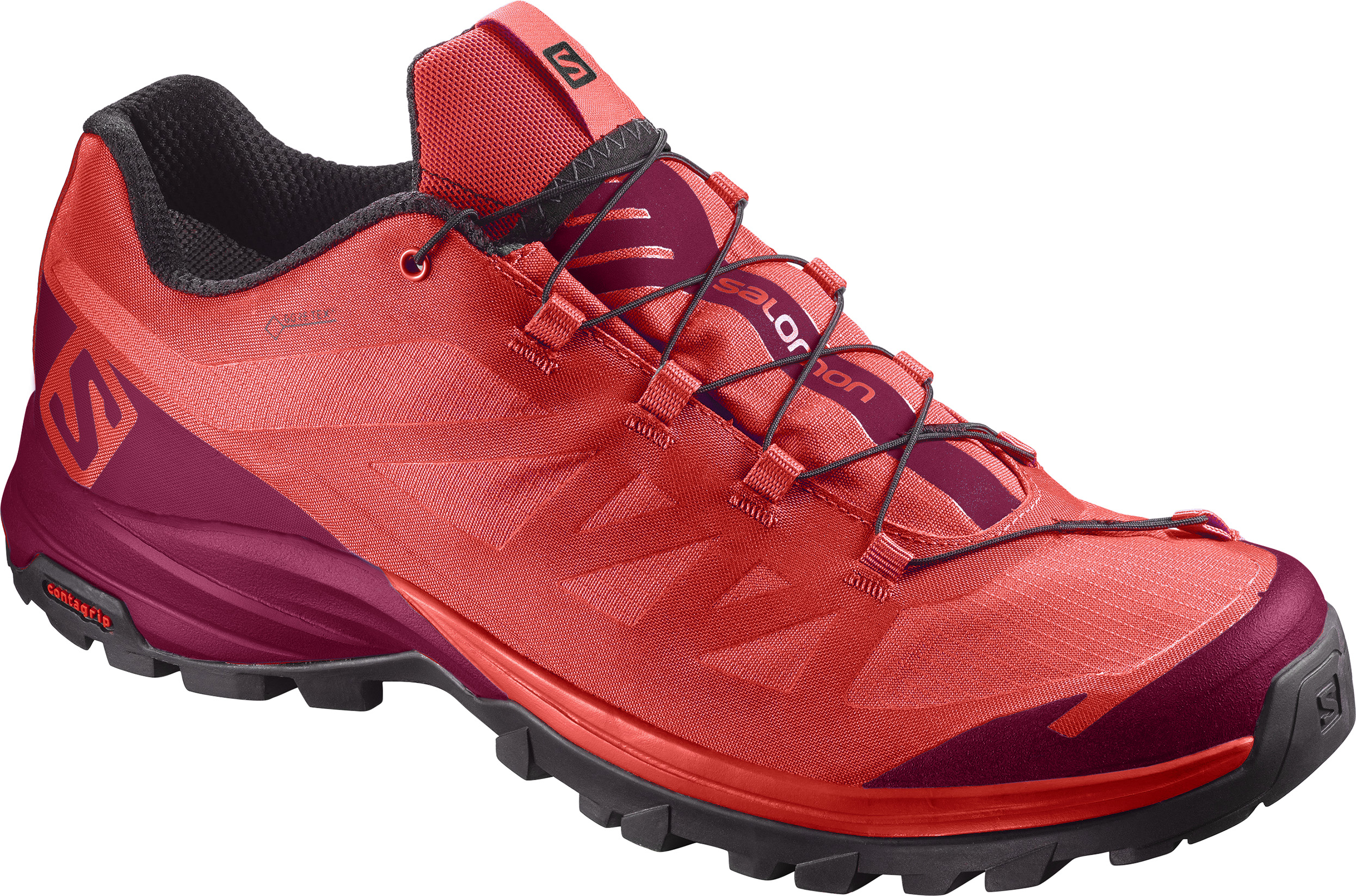 Salomon OUTpath GTX W 400018 červená 38