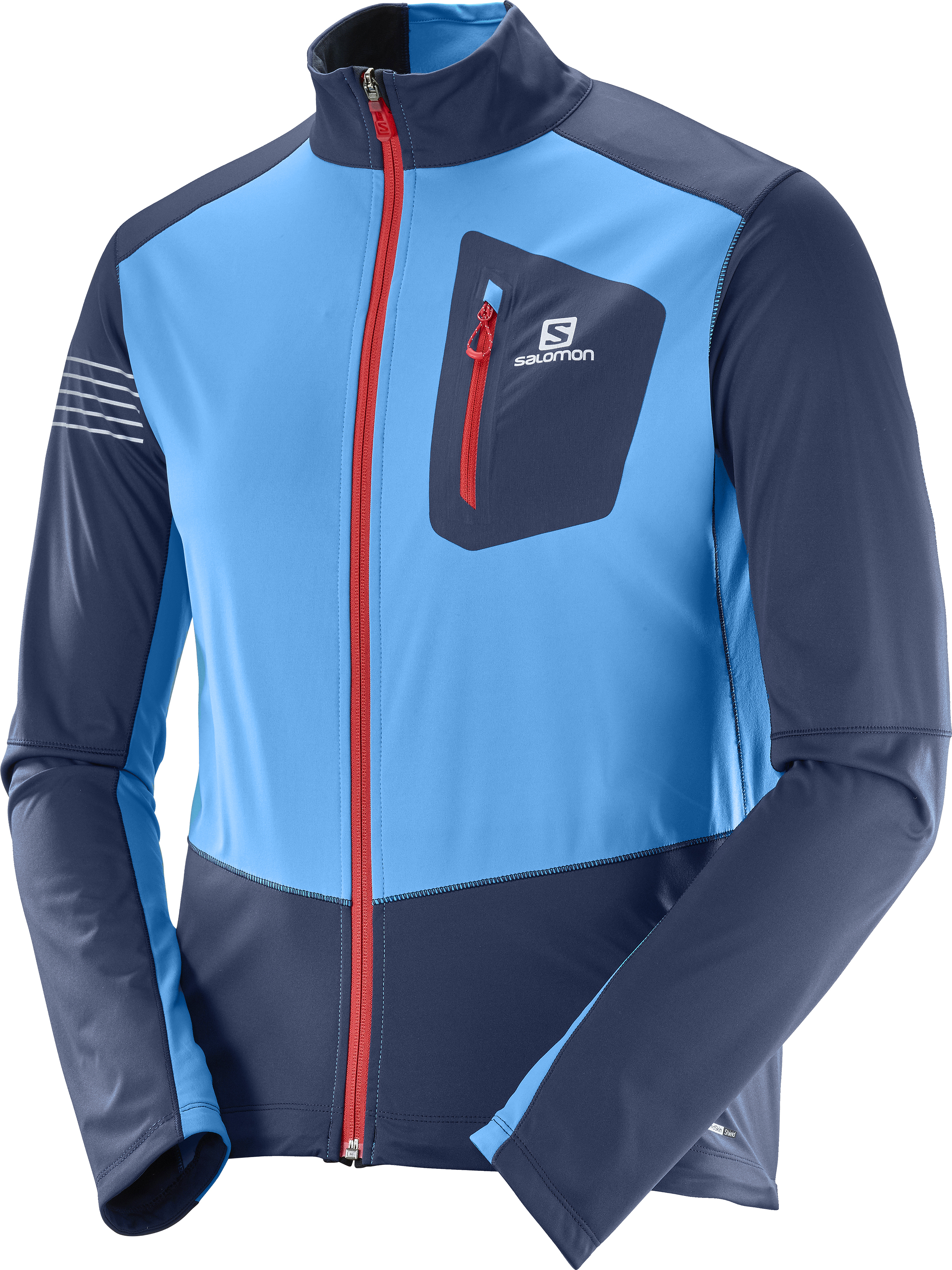 Salomon RS Softshell JKT 397111 modrá L
