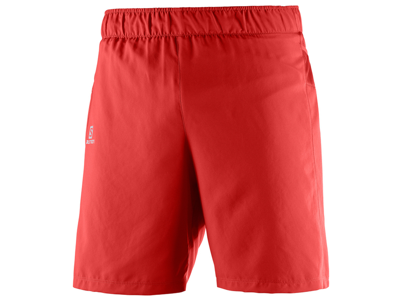 Salomon Trail Runner Short 392669 červená 2XL