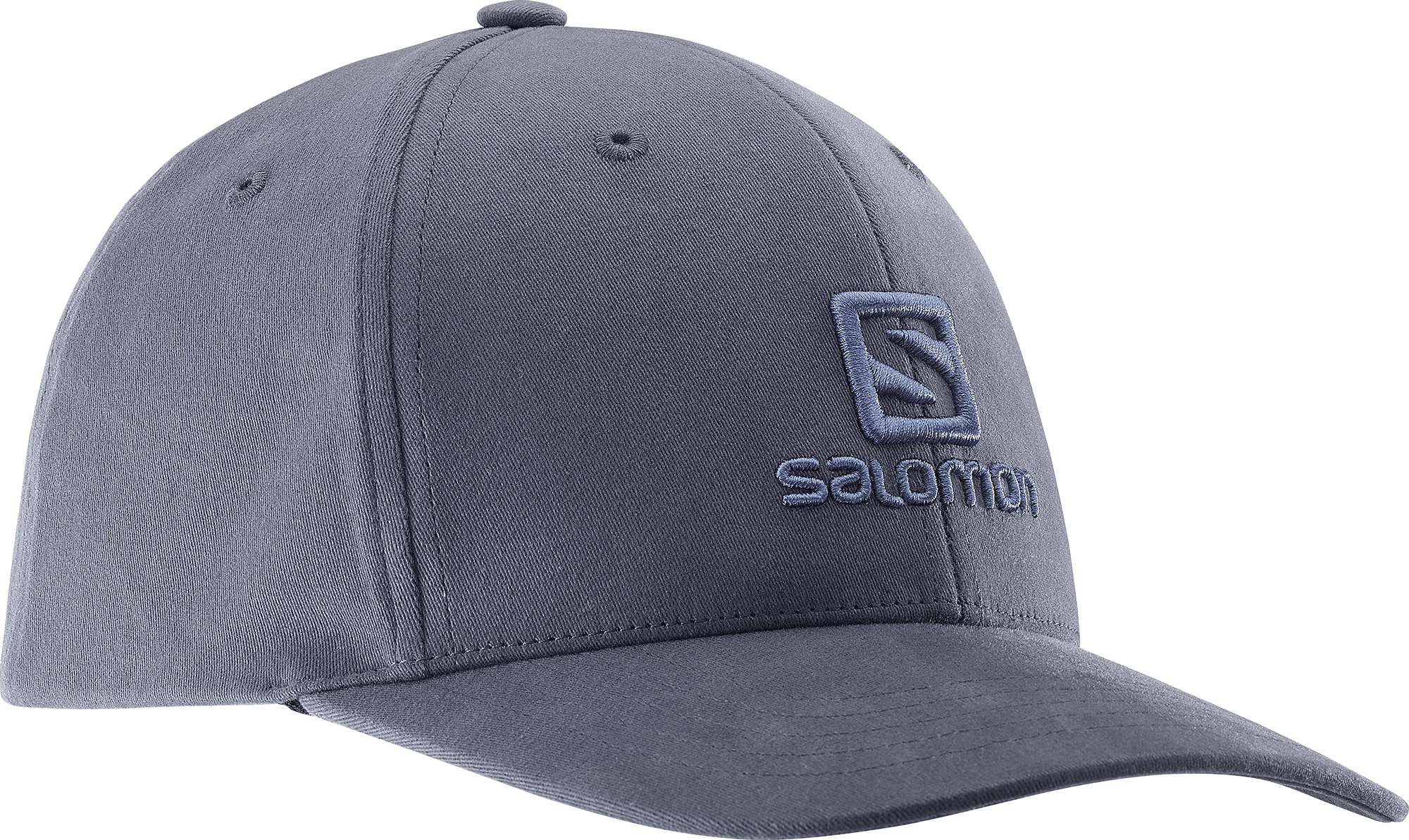 Salomon Logo Cap Ombre Blue 393279 šedá