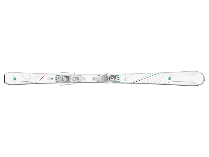 Salomon W-MAX 4 + Lithium 10 17/18 399584 bílá 11
