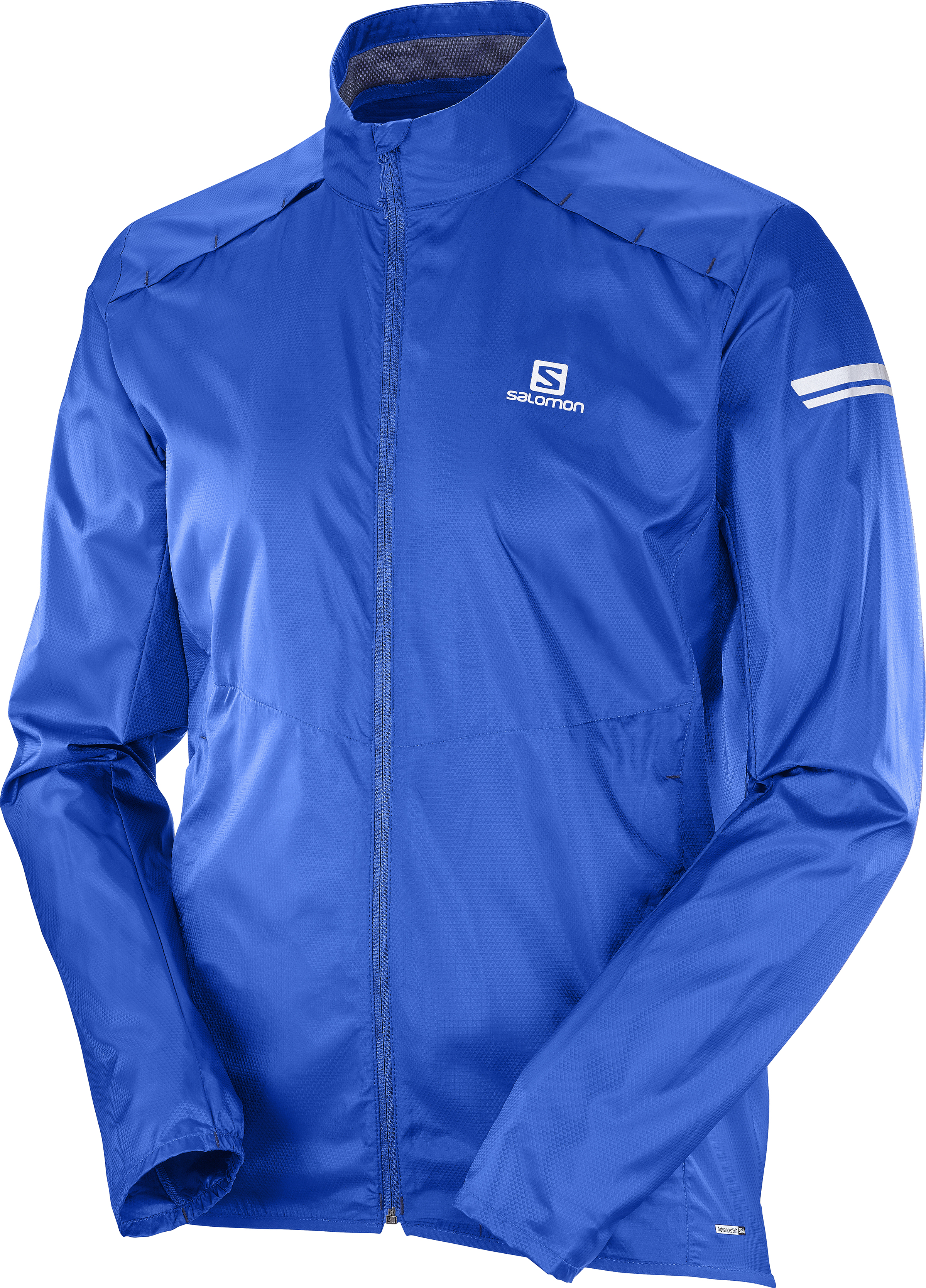 Salomon Agile Wind JKT 394239 modrá XL
