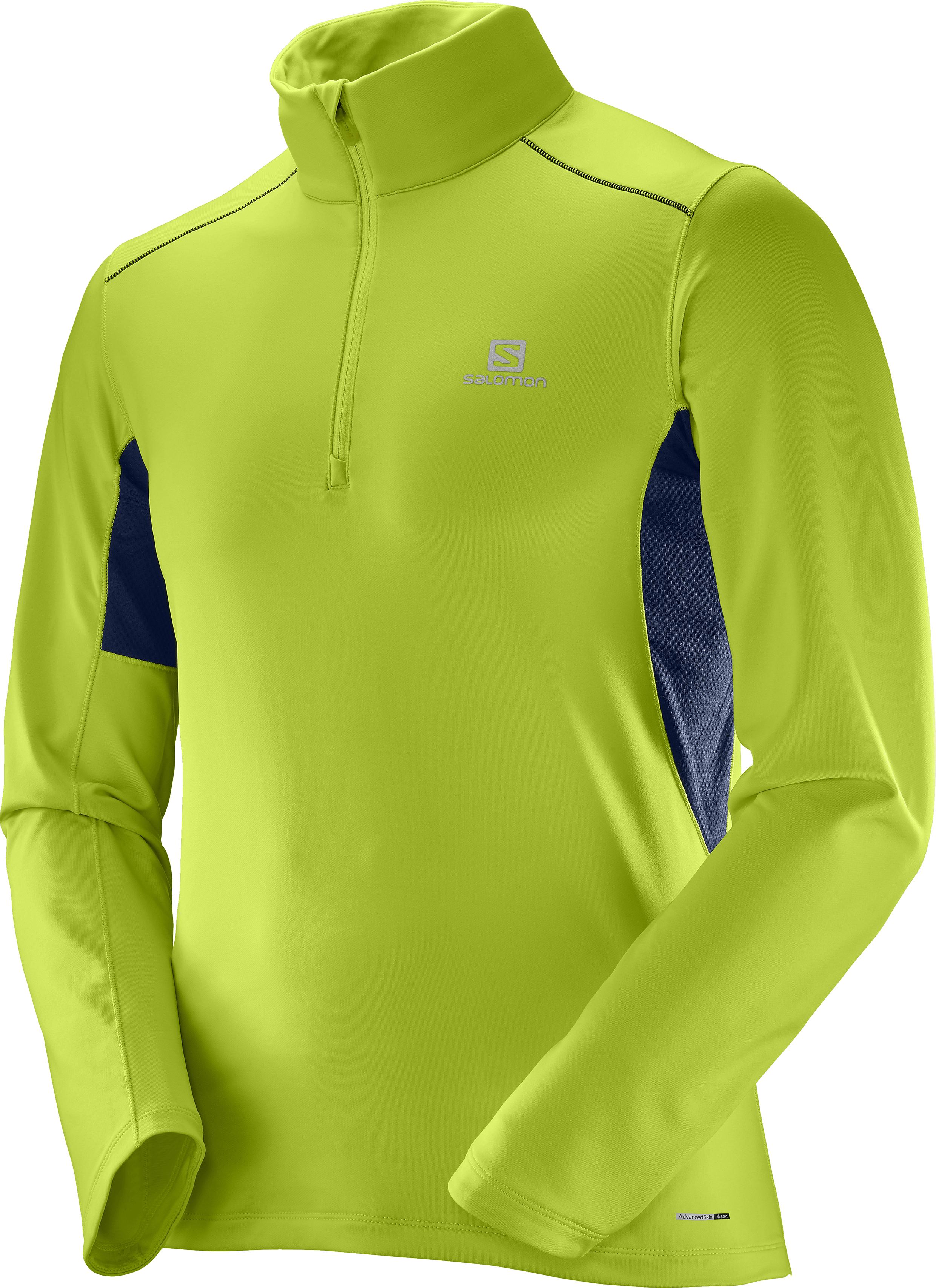 Salomon Agile Warm HZ Mid Acid Lime/Dress Blue 397139 žlutá L