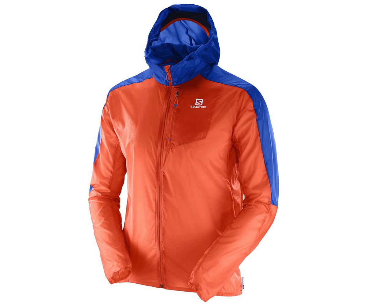 Salomon Fast Wing Hoodie 392562 oranžová L
