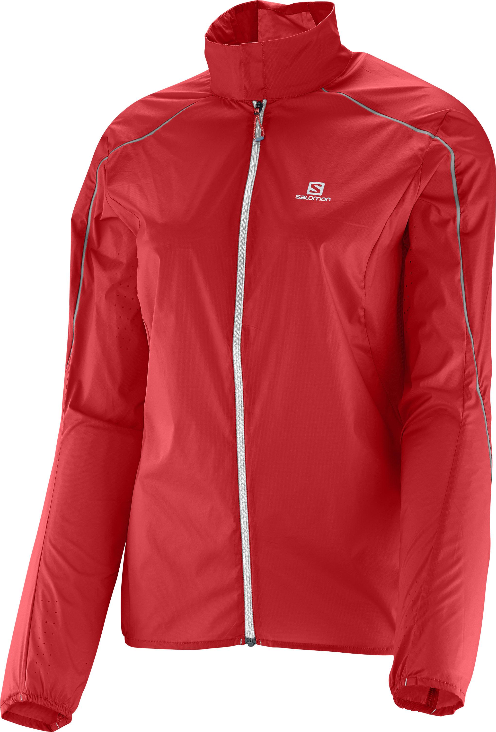 Salomon S-Lab Light Jacket W 370836 červená L
