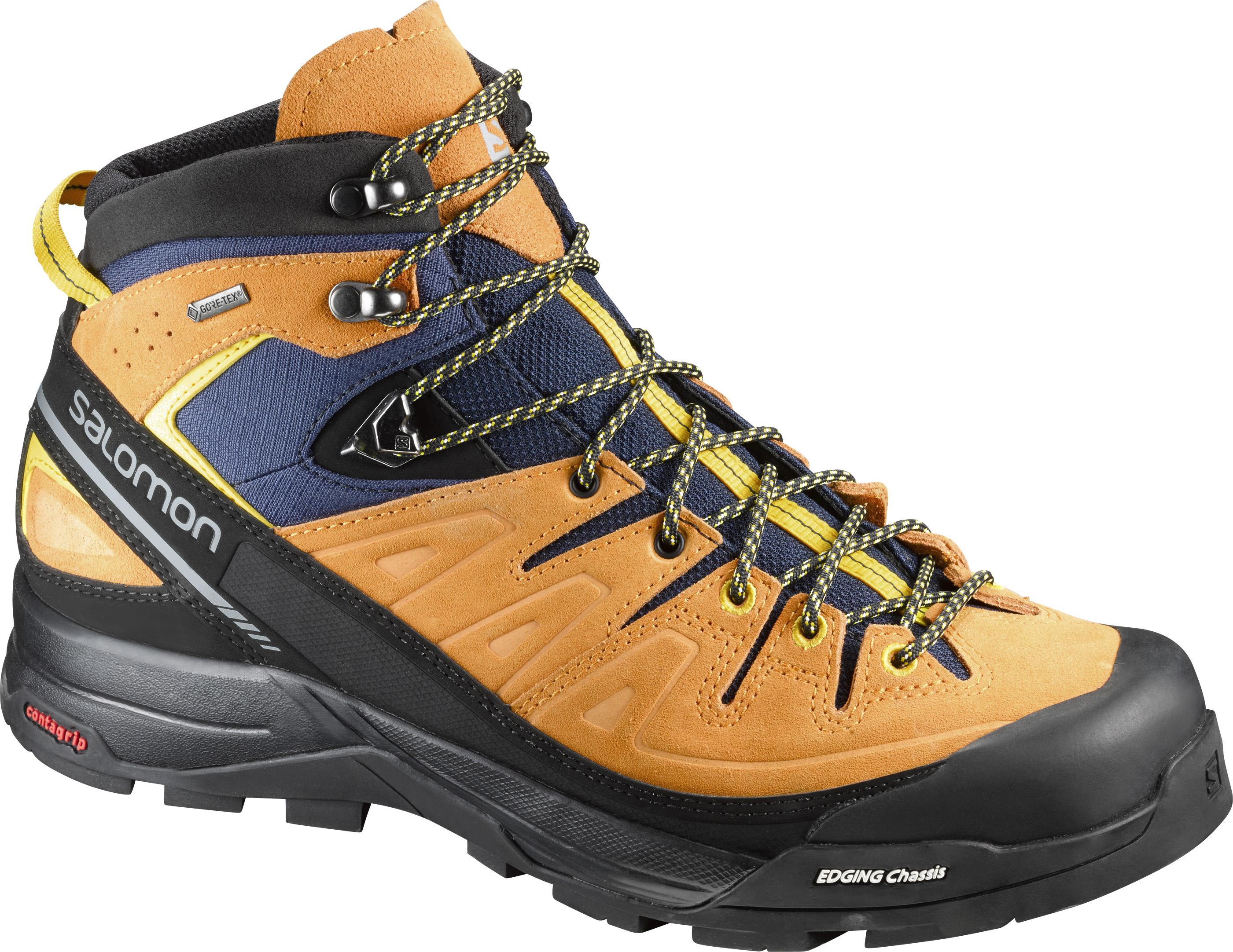 Salomon X Alp Mid LTR GTX 393251 oranžová 42