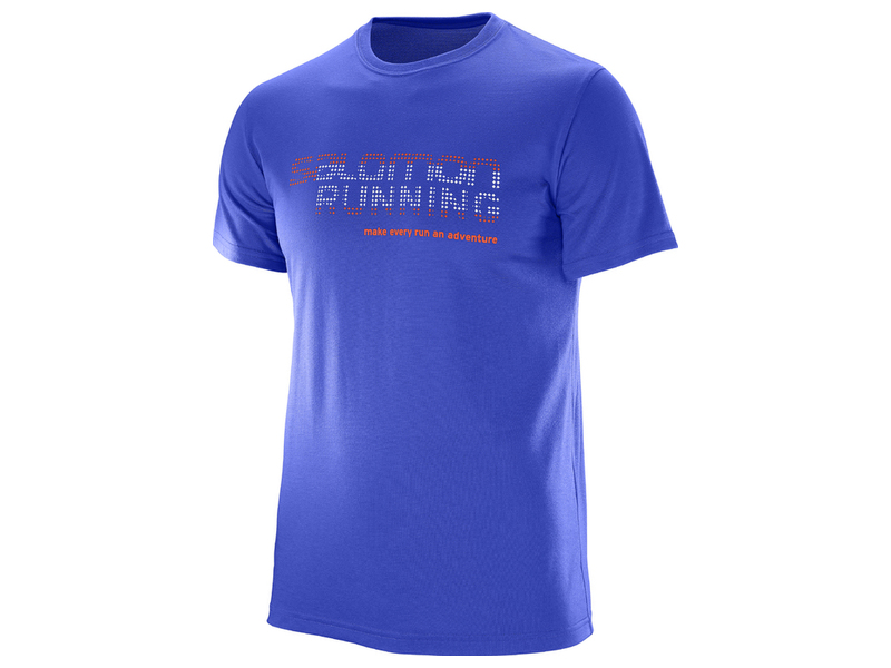 Salomon Running Graphic TEE 392593 fialová M