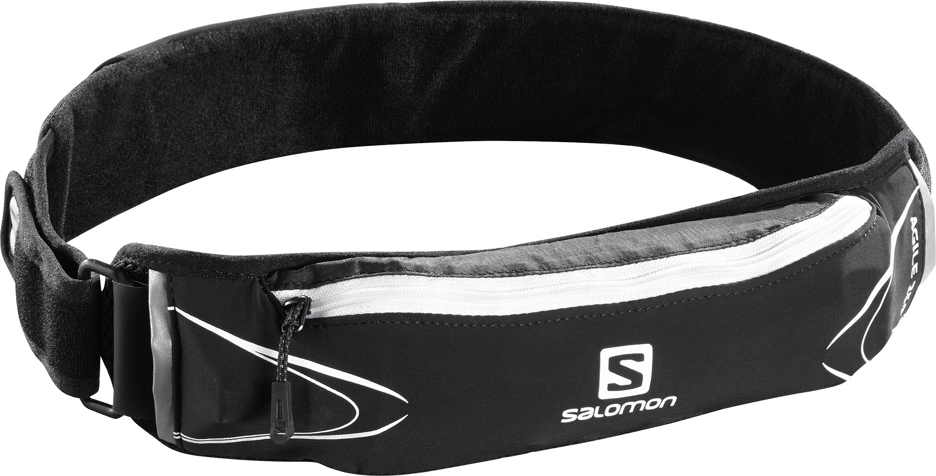 Salomon Agile 250 Belt Set Black/White 375790 černá
